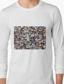 Elvis presley collage Long Sleeve T-Shirt