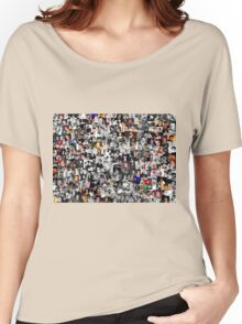 Elvis presley collage Women's Relaxed Fit T-Shirt