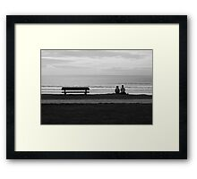 The Empty Seat. Framed Print