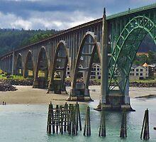 Yakima Bridge...Newport, Ore. by trueblvr