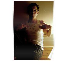 Boys DOnt Cry - Jordan Fraser - Trumble Poster
