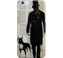 the boxer iPhone Case/Skin