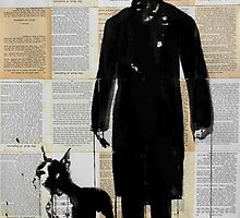 the boxer by Loui  Jover