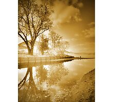 Sunrise in Sepia Photographic Print