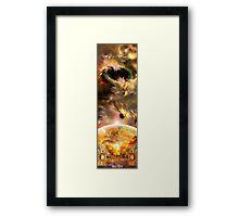 Rubix Calisto Framed Print