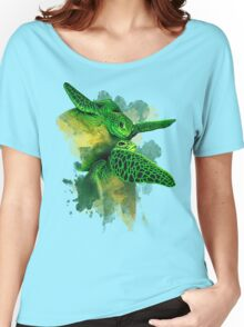 Gliding the Green Women's Relaxed Fit T-Shirt