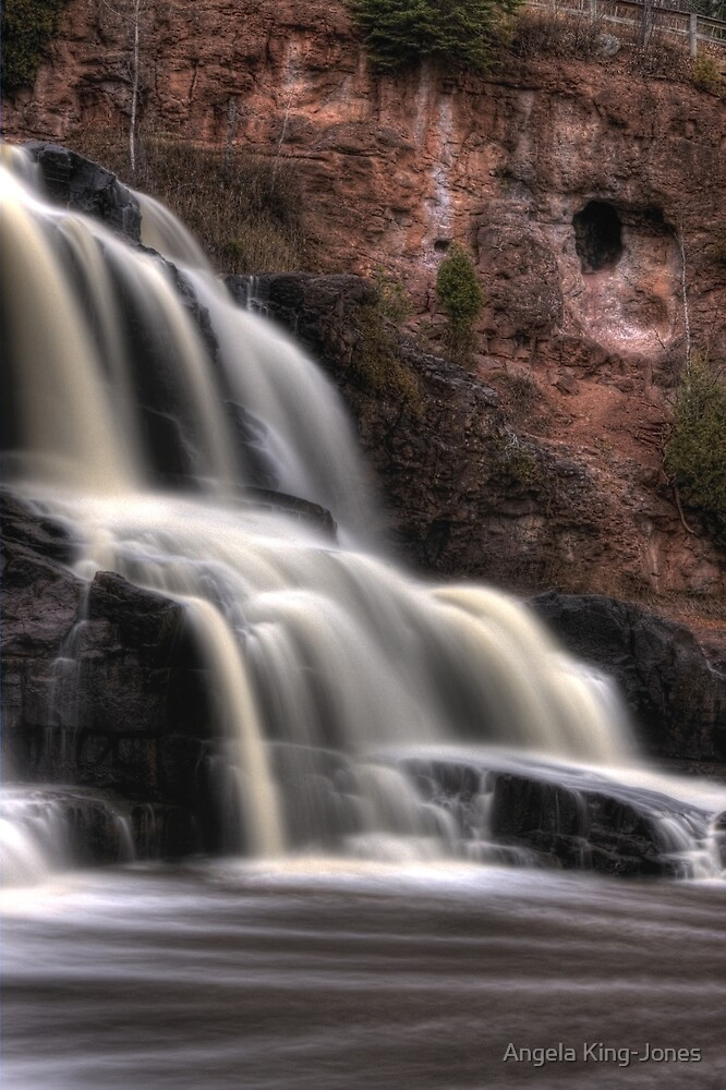Gooseberry Falls by Angela King-Jones