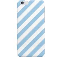 Light Thick Diagonal Stripes iPhone Case/Skin