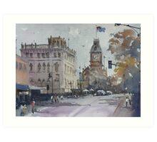 Sturt Street, Ballarat Art Print