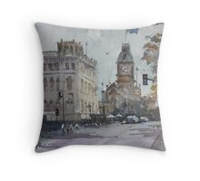 Sturt Street, Ballarat Throw Pillow