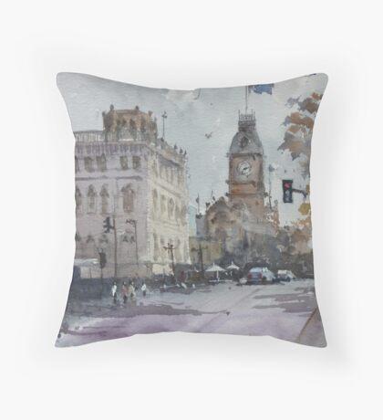 Sturt Street, Ballarat Throw Pillow
