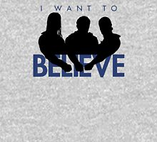 I Want to Believe (White) Unisex T-Shirt