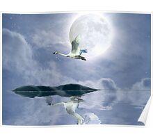 """Wilderness Moon"" Poster"