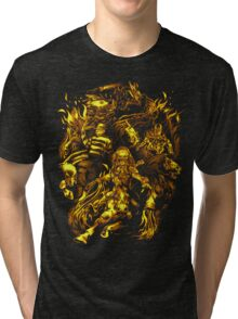 Four Horsemen of the Sci Fi Apocalypse Tri-blend T-Shirt