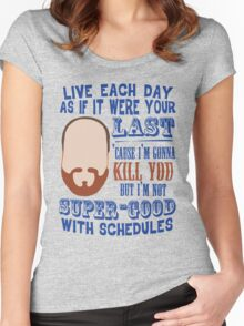 Whedon's Tweet Women's Fitted Scoop T-Shirt