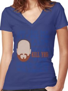 Whedon's Tweet Women's Fitted V-Neck T-Shirt