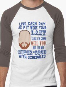 Whedon's Tweet Men's Baseball ¾ T-Shirt