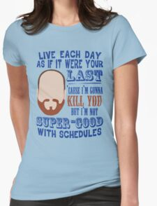 Whedon's Tweet Womens Fitted T-Shirt