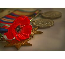 Remembrance Day Photographic Print