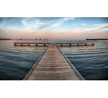 Pier at Millers Bay ~ HDR Photographic Print