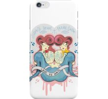 Siamese dream iPhone Case/Skin