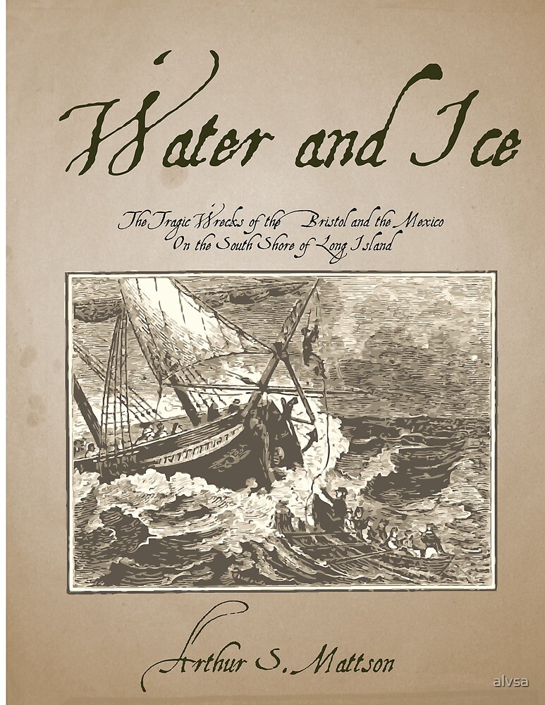 Book Cover Proposal - Water & Ice - 2 by alvsa