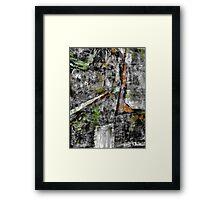 Sometimes It Rains. ( Grey, Wet Day ) Framed Print