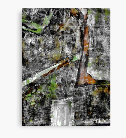 Sometimes It Rains. ( Grey, Wet Day ) Canvas Print