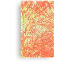 red and green lines Canvas Print