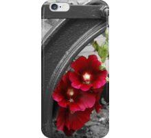 Hollyhocks iPhone Case/Skin