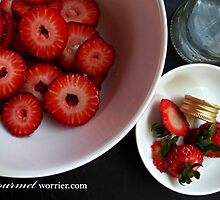 Strawberries & Rosewater by MsGourmet