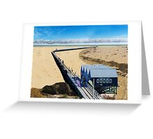 Buselton Jetty ... after climate change! Greeting Card
