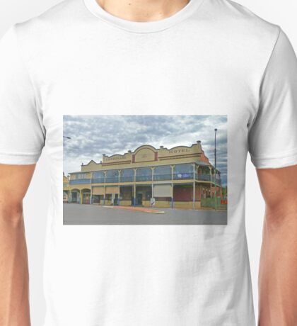 Carrollee Hotel, Kingaroy, Qld, Australia Unisex T-Shirt