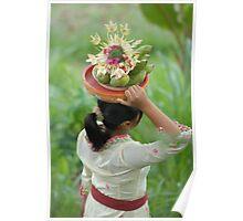Bali life - ceremony  Poster