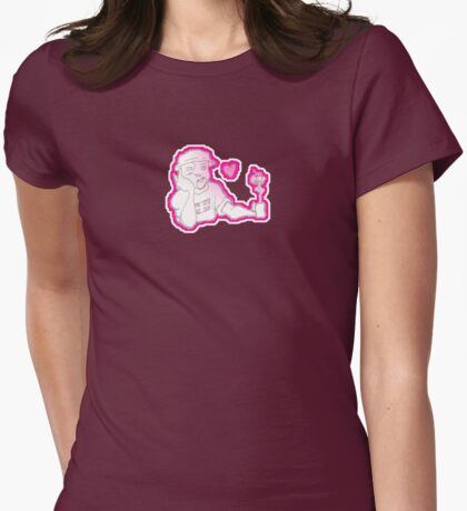 earlier Womens Fitted T-Shirt