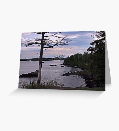 Lake Superior shot Greeting Card