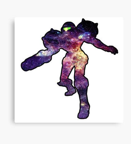 Samus galaxy Canvas Print
