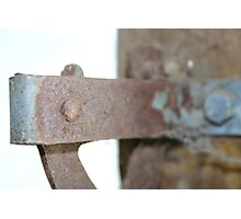 fence latch Photographic Print