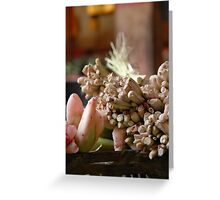 Bali life - spices Greeting Card