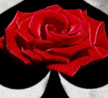 Rose of Spades Sticker