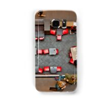 Red Chairs Samsung Galaxy Case/Skin