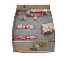 Red Chairs Mini Skirt