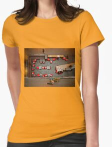 Red Chairs Womens Fitted T-Shirt