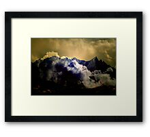 Calling and Freedom Framed Print