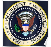 Seal of the President of the United States Poster