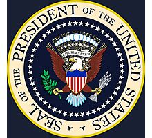 Seal of the President of the United States Photographic Print