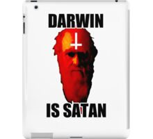 Darwin is Satan! iPad Case/Skin