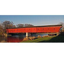 The Kissing Bridge - West Montrose, Ontario Photographic Print