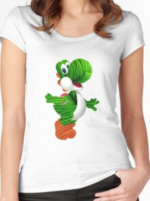 Yarn Yoshi Women's Fitted Scoop T-Shirt