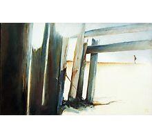 Uncommon Journey - Emotive abstract beach scene Photographic Print